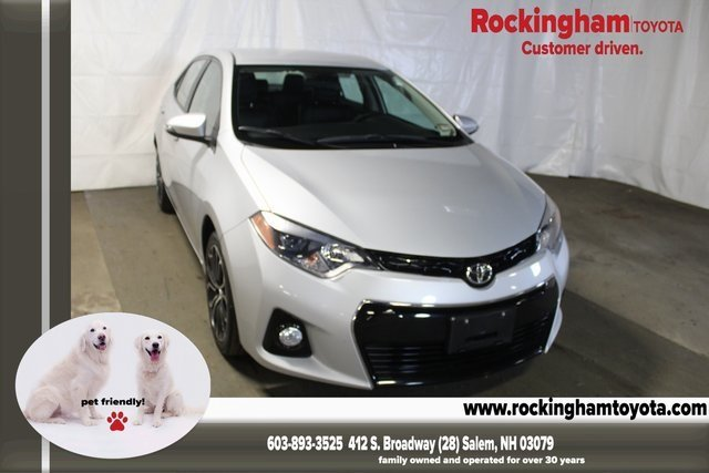 Certified Pre-Owned 2016 Toyota Corolla S Plus