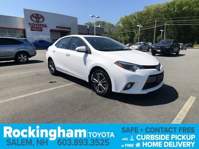 Certified Pre-Owned 2016 Toyota Corolla LE Plus